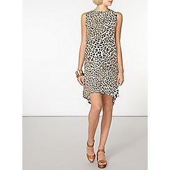Dorothy Perkins - Animal print shift dress