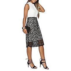 Dorothy Perkins - 2in1 lace skirt pencil dress