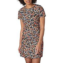 Dorothy Perkins - Pique floral shift dress