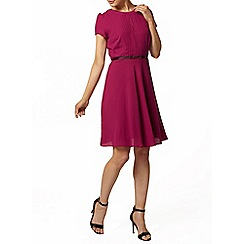 Dorothy Perkins - Fuchia pintuck dress