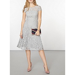 Dorothy Perkins - Lace scallop back midi dress