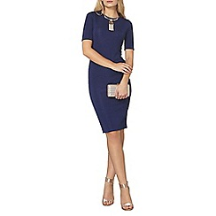 Dorothy Perkins - Animal textured bodycon dress