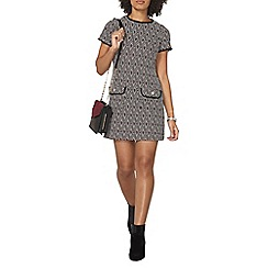 Dorothy Perkins - Geo spot shift dress