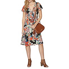Dorothy Perkins - Oriental print fit and flare dress
