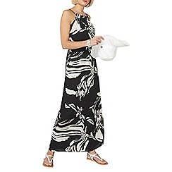 Dorothy Perkins - Chiffon zebra print maxi dress