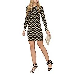 Dorothy Perkins - Chevron stripe shift dress