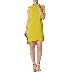 Dorothy Perkins - Lime roll neck shift dress