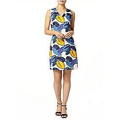 Dorothy Perkins - Leaf printed shift dress