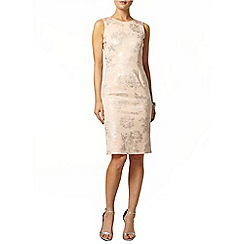 Dorothy Perkins - Blush foil print pencil dress