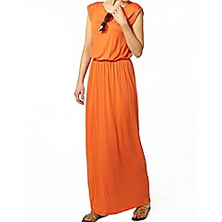 Dorothy Perkins - Bright orange t-shirt maxi