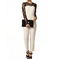 Dorothy Perkins - Long sleeve lace top jumpsuit