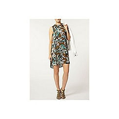 Dorothy Perkins - Khaki tropical shift dress