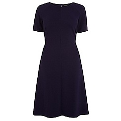 Dorothy Perkins - Navy raglan crepe dress