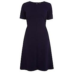 Dorothy Perkins - Navy raglan crepe dress