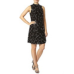 Dorothy Perkins - Black sequin shift dress