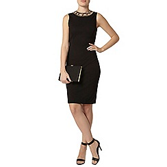 Dorothy Perkins - Black gold trim bodycon dress