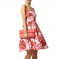 Dorothy Perkins - Printed bandeau prom dress