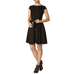 Dorothy Perkins - Black laid on lace dress