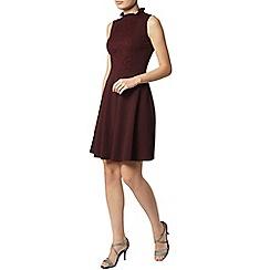 Dorothy Perkins - Plum victoriana dress