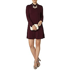 Dorothy Perkins - Mulberry high neck swing dress