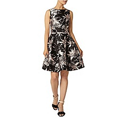 Dorothy Perkins - Black oriental prom dress