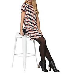 Dorothy Perkins - Geo print collar shift dress