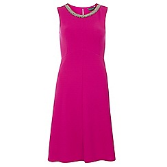 Dorothy Perkins - Tall cerise crepe dress