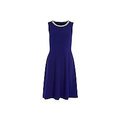 Dorothy Perkins - Tall indigo crepe dress