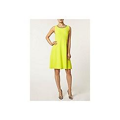 Dorothy Perkins - Lime embellished dress