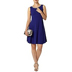 Dorothy Perkins - Indigo crepe jersey dress