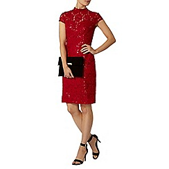 Dorothy Perkins - Raspberry sequin pencil dress