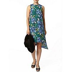 Dorothy Perkins - Print asymmetric shift dress
