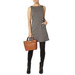 Dorothy Perkins - Mono tabard pinafore dress