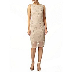 Dorothy Perkins - Champagne pencil dress