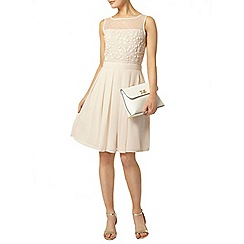 Dorothy Perkins - Blush beaded prom dress