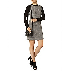 Dorothy Perkins - Grey 2 in 1 shift dress