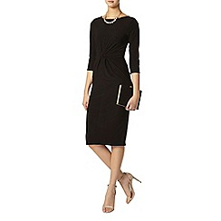 Dorothy Perkins - Tall black knot bodycon dress