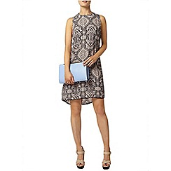 Dorothy Perkins - Print hi lo shift dress