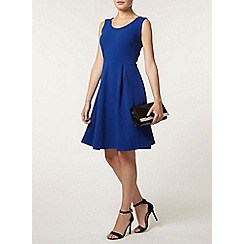 Dorothy Perkins - Blue scoop neck dress