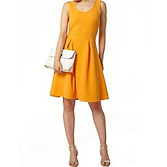Dorothy Perkins - Orange coop neck dress