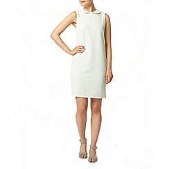 Dorothy Perkins - Mint collar waffle shift dress