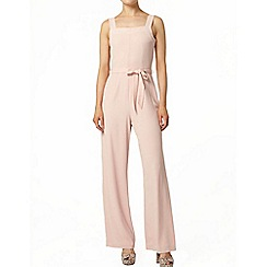 Dorothy Perkins - Blush square neck jumpsuit