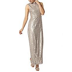 Dorothy Perkins - High neck sequin maxi dress