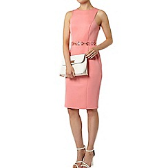 Dorothy Perkins - Apricot embellished pencil dress