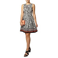 Dorothy Perkins - Paisley stripe hem dress