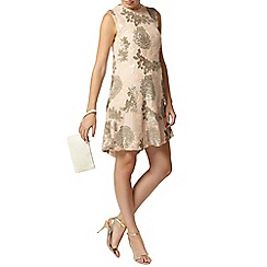 Dorothy Perkins - Blush sequin shift dress
