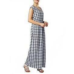 Dorothy Perkins - Printed jersey maxi dress