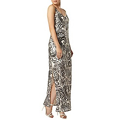 Dorothy Perkins - Swirl sequin maxi dress