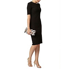 Dorothy Perkins - Black textured tube dress