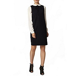 Dorothy Perkins - Navy ottoman shift dress